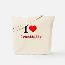 I Love Granddaddy Tote Bag