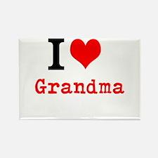 I Love Grandma Magnets