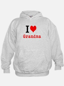 I Love Grandma Hoodie