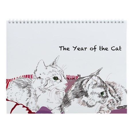 Cats Haiku Wall Calendar