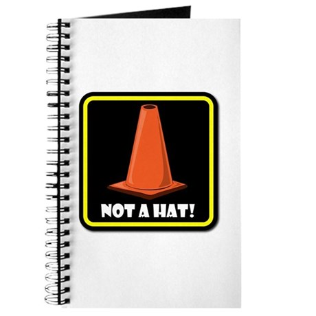 NOT A HAT! BLACK SIGN 2 Journal
