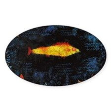 Paul Klee Goldfish Decal