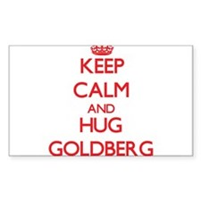 Keep calm and Hug Goldberg Decal