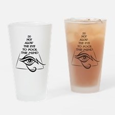 Mind Over Matter Drinking Glass