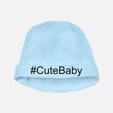 Hashtag # Cute Baby baby hat