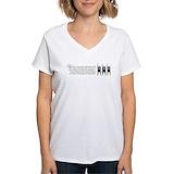 Humanist Womens V-Neck T-shirts