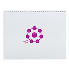 Curvy CEO Life Map Wall Calendar