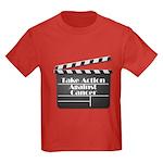 Take Action Against Cancer Kids Dark T-Shirt