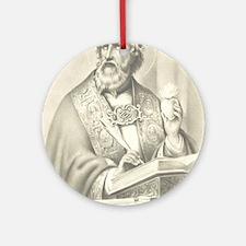 St. Augustine Ornament (Round)