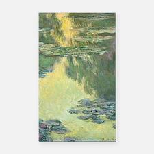 Claude Monet Water Lilies Rectangle Car Magnet