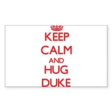 Keep calm and Hug Duke Decal