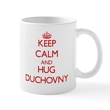 Keep calm and Hug Duchovny Mugs