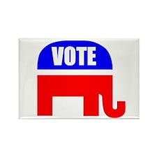 Vote Republican Rectangle Magnet