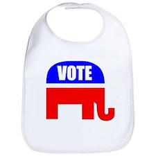 Vote Republican Bib