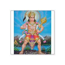 Jai Hanuman Rectangle Sticker