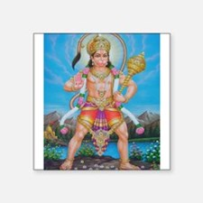 Jai Hanuman Rectangle Sticker