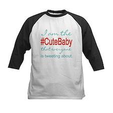 #Cute Baby Social Media Tee