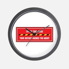 I'm the Guide Wall Clock