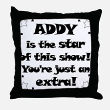 Addy is the Star Throw Pillow