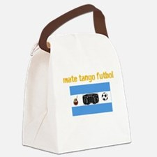 Mate Tango Futbol Canvas Lunch Bag