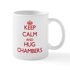 Keep calm and Hug Chambers Mugs