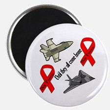 "Air Force Red Friday 2.25"" Magnet (100 pack)"