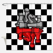 Chess Master Shower Curtain