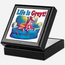 Life is Greyt! Keepsake Box