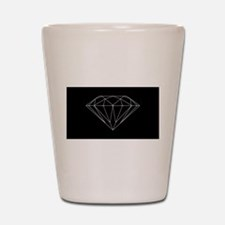 Diamond black Shot Glass
