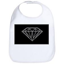 Diamond black Bib