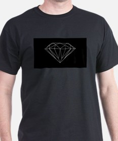 Diamond black T-Shirt