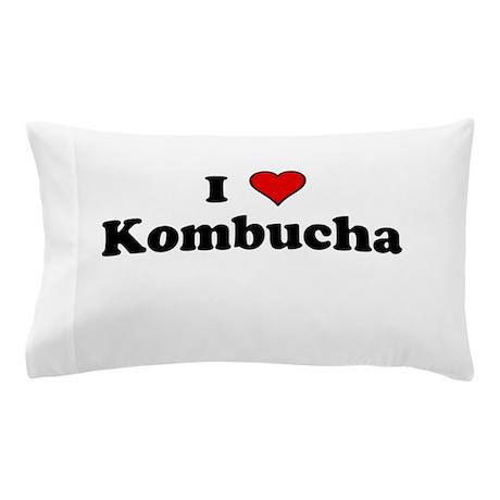 I Heart Kombucha Pillow Case