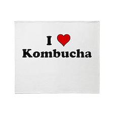I Heart Kombucha Throw Blanket