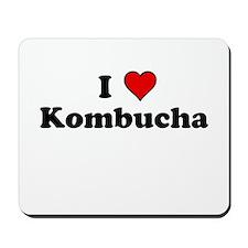 I Heart Kombucha Mousepad
