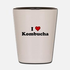 I Heart Kombucha Shot Glass