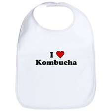 I Heart Kombucha Bib