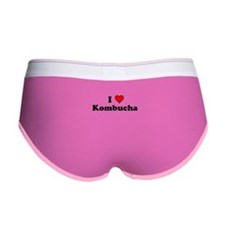 I Heart Kombucha Women's Boy Brief