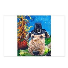 Unique Airedales Postcards (Package of 8)