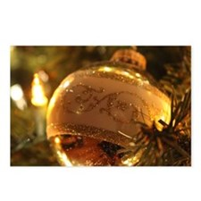 Christmas Bulb Postcards (Package of 8)