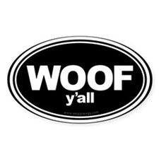 Wag More Bark Less Black Decal