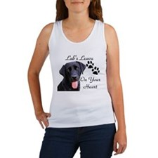 Pawprints on your heart Women's Tank Top