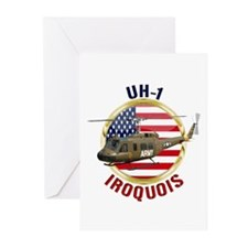 UH-1 Iroquois Greeting Cards