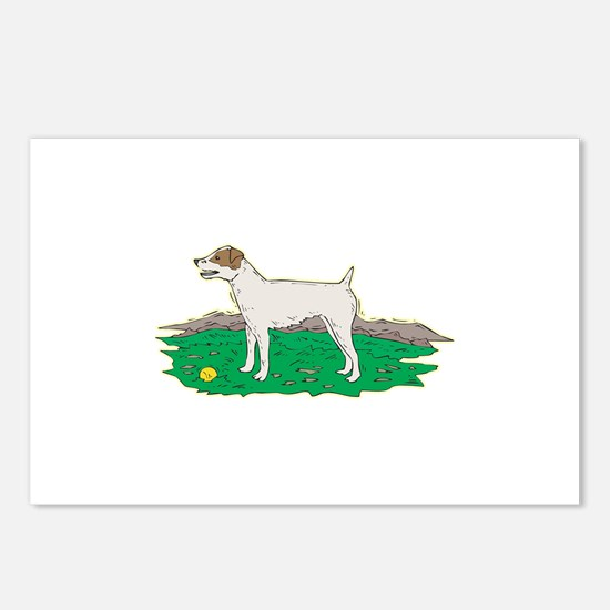 Jack Russell Postcards (Package of 8)