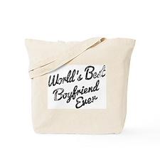 Worlds best boyfriend Tote Bag