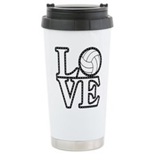 Love Vollebyabll Travel Mug