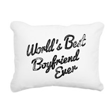 Worlds best boyfriend Rectangular Canvas Pillow