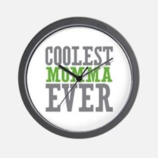 Coolest Momma Only Wall Clock