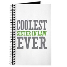 Coolest Sister-In-Law Ever Journal