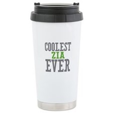 Coolest Zia Ever Travel Coffee Mug