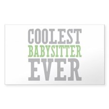Coolest Babysitter Ever Decal